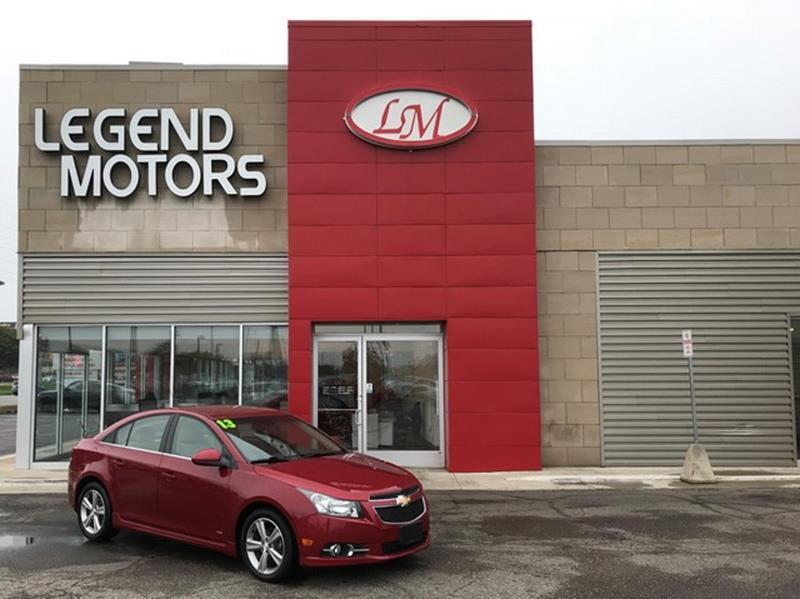 2013 Chevrolet Cruze  Miles 66025Color RED Stock 8703C VIN 1G1PE5SB5D714