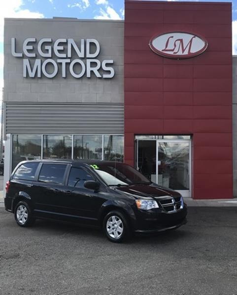 2012 Dodge Grand Caravan  Miles 94462Color BLACK Stock 8705C VIN 2C4RDGBG1CR298907