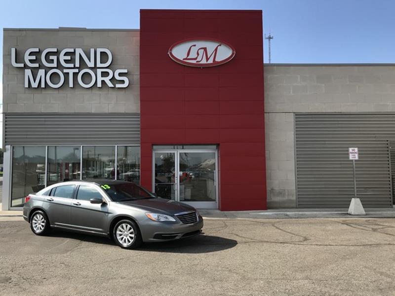 2013 Chrysler 200  Miles 62165Color SILVER Stock 8715C VIN 1C3CCBBB8DN61