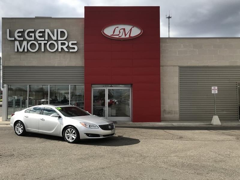 2014 Buick Regal  Miles 101055Color SILVER Stock 8732C VIN 2G4GN5EX0E9158740