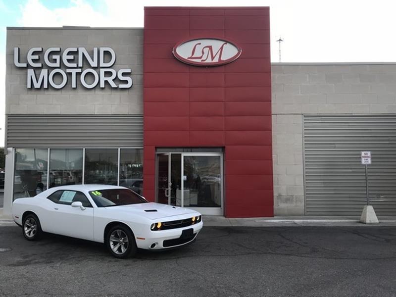 2016 Dodge Challenger  Miles 53466Color WHITE Stock 8765C VIN 2C3CDZAG4G