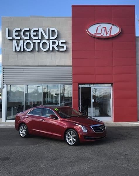 2015 Cadillac Ats  Miles 53998Color RED Stock 8763C VIN 1G6AH5RX6F0126918