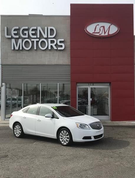 2015 Buick Verano  Miles 77269Color WHITE Stock 8759C VIN 1G4PP5SK4F4131886