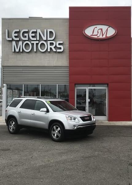 2011 Gmc Acadia car for sale in Detroit