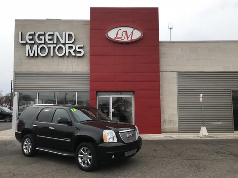 2012 Gmc Yukon car for sale in Detroit