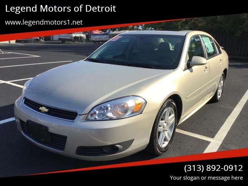 2011 Chevrolet Impala car for sale in Detroit
