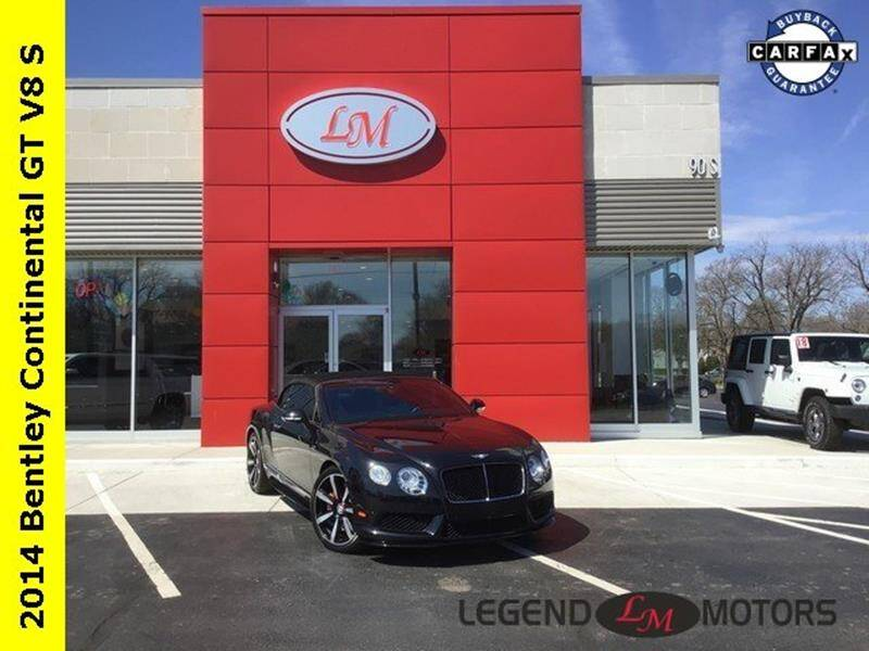2014 Bentley Continental car for sale in Detroit