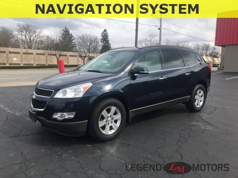 2012 Chevrolet Traverse Detroit Used Car for Sale