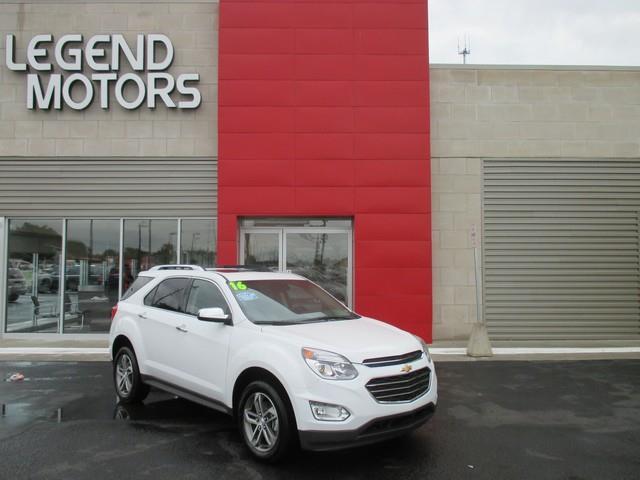 2016 Chevrolet Equinox  Miles 11500Color WHITE Stock 6926C VIN 2GNFLGE31G6298340