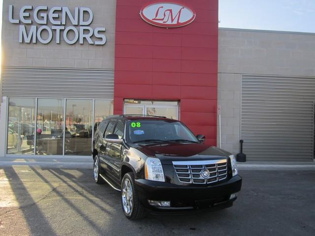 2008 Cadillac Escalade  LEGEND MOTORS has been serving our community for over 25 years we have hig