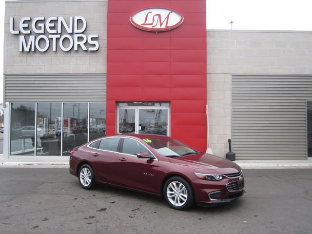 2016 Chevrolet Malibu  Miles 16112Color RED Stock 7298C VIN 1G1ZE5ST6GF261341