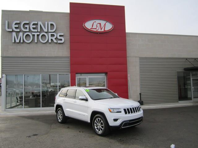 2015 Jeep Grand Cherokee  Miles 27022Color WHITE Stock 7292C VIN 1C4RJFBG3FC637988