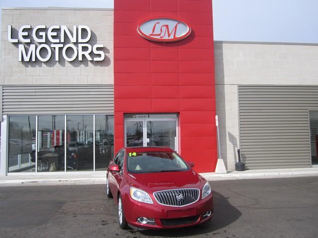 2014 Buick Verano  Miles 24019Color RED Stock 7329C VIN 1G4PR5SK1E4111555