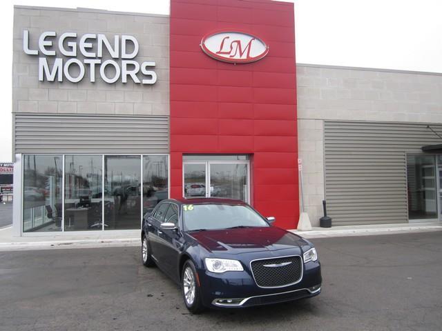 2016 Chrysler 300  Miles 20827Color BLUE Stock 7320C VIN 2C3CCAEG6GH147630