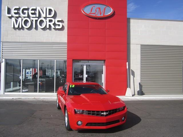 2012 Chevrolet Camaro  Miles 43300Color RED Stock 7327C VIN 2G1FB1E32C9195695