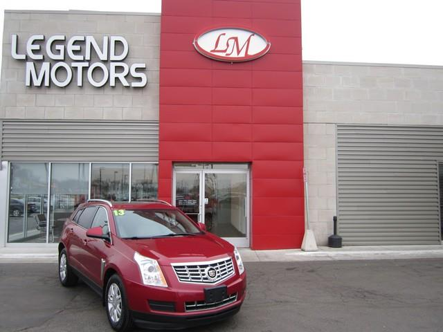 2013 Cadillac Srx  Miles 80090Color MAROON Stock 7356c VIN 3GYFNGE37DS533494