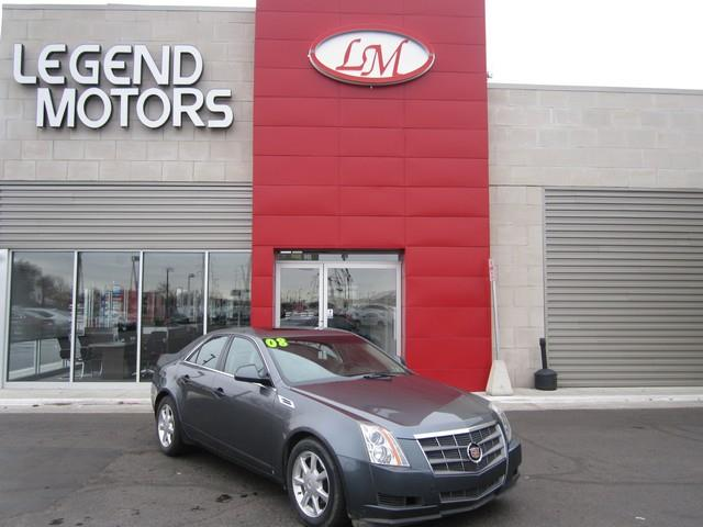 2008 Cadillac Cts  Miles 92556Color GRAY Stock 7370C VIN 1G6DR57VX80173528