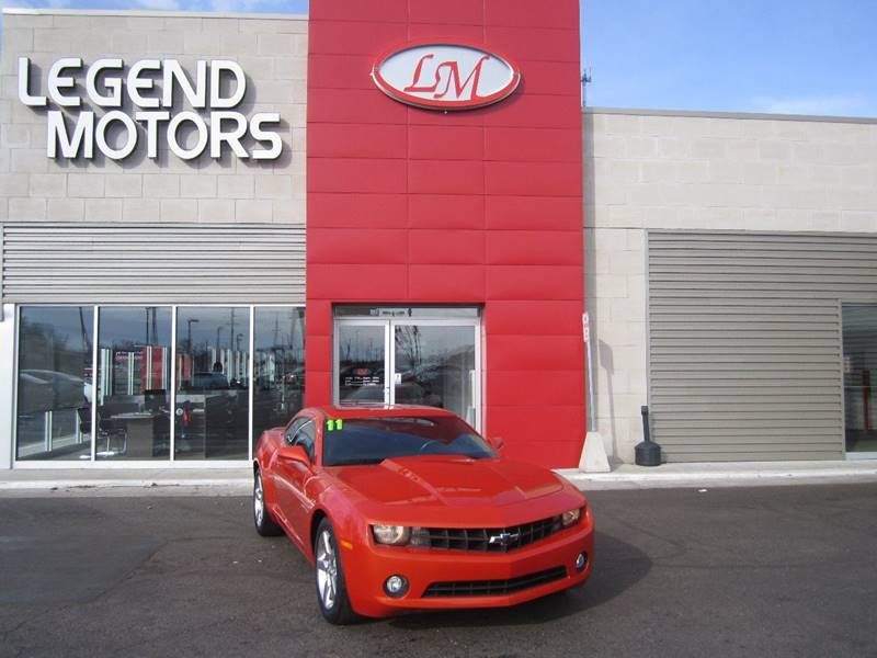 2011 Chevrolet Camaro  Miles 53461Color ORANGE Stock 7359C VIN 2G1FB1ED6B9136107