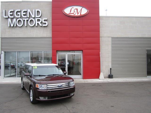 2010 Ford Flex  Miles 77519Color MAROON Stock 7394C VIN 2FMGK5CC3ABA98643