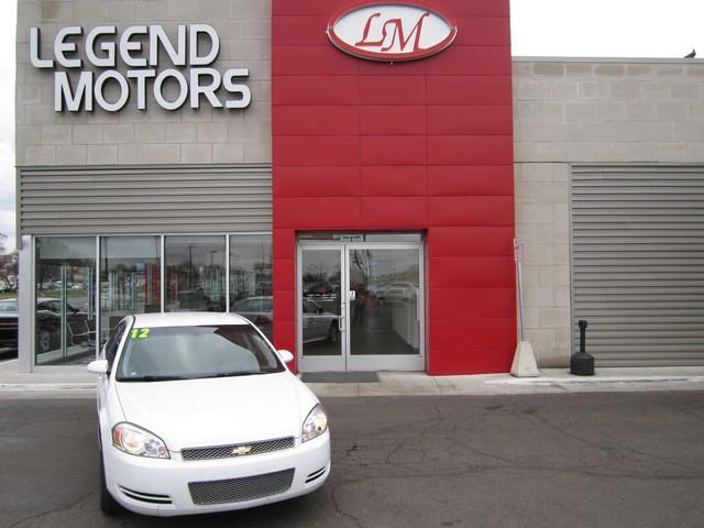 2012 Chevrolet Impala  Miles 71533Color WHITE Stock 7411C VIN 2G1WA5E34C1181709