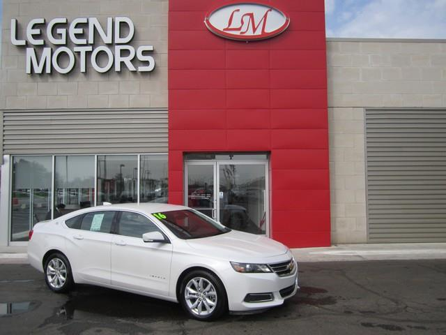 2016 Chevrolet Impala  LEGEND MOTORS has been serving our community for over 25 years we have high