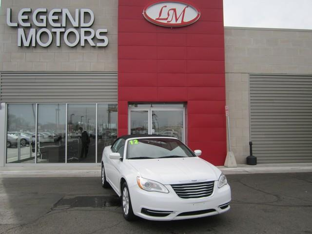 2012 Chrysler 200 Convertible  LEGEND MOTORS has been serving our community for over 25 years we h