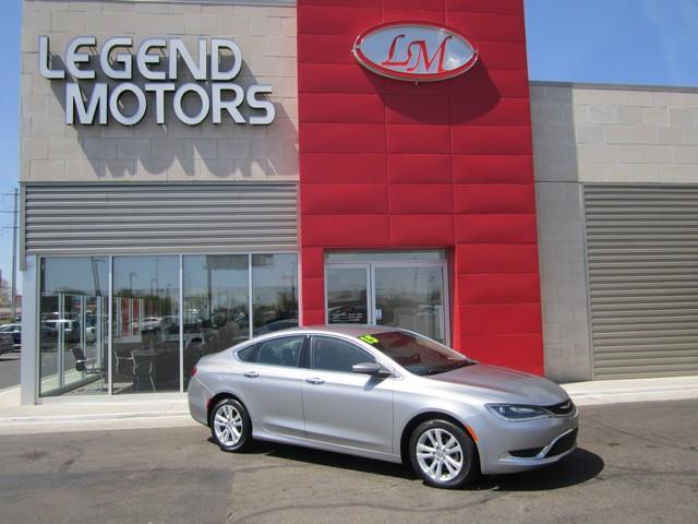 2015 Chrysler 200  Miles 35784Color SILVER Stock 7498C VIN 1C3CCCAB9FN636017