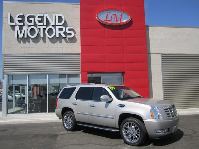 2009 Cadillac Escalade  Miles 86801Color GRAY Stock 7503C VIN 1GYFK53259R118594