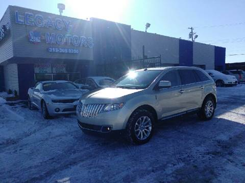 2011 Lincoln MKX for sale in Detroit, MI