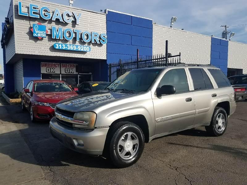 2003 Chevrolet Trailblazer car for sale in Detroit