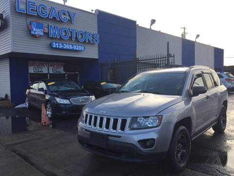 2014 Jeep Compass for sale at Legacy Motors in Detroit MI