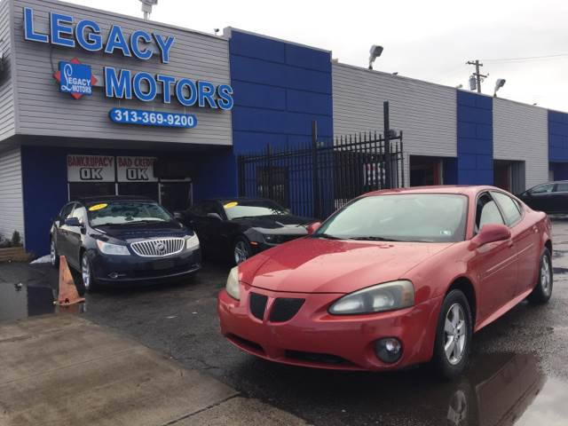 2008 Pontiac Grand Prix car for sale in Detroit