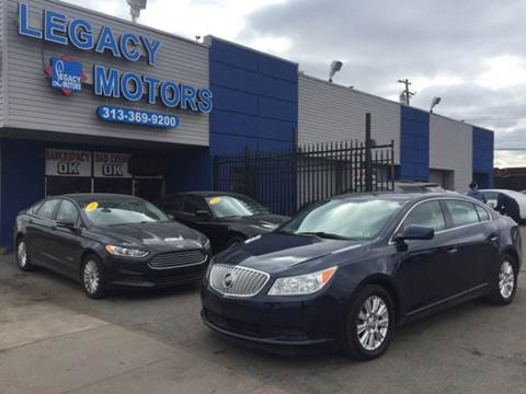 2010 Buick LaCrosse for sale at Legacy Motors in Detroit MI