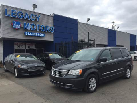 2012 Chrysler Town and Country for sale at Legacy Motors in Detroit MI