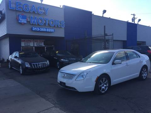 2010 Mercury Milan for sale at Legacy Motors in Detroit MI