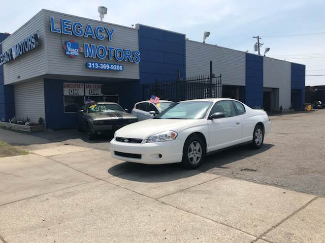 2007 Chevrolet Monte Carlo car for sale in Detroit