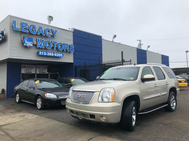 2007 Gmc Yukon Denali In Detroit Mi Legacy Motors