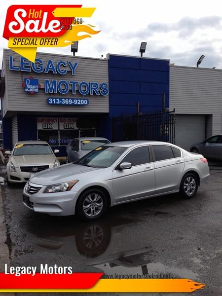 2011 Honda Accord car for sale in Detroit