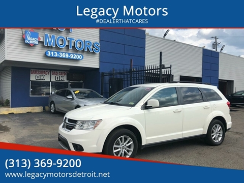 2014 Dodge Journey for sale at Legacy Motors in Detroit MI