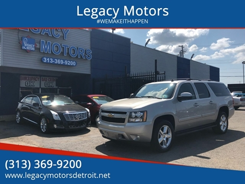 2007 Chevrolet Suburban for sale at Legacy Motors in Detroit MI