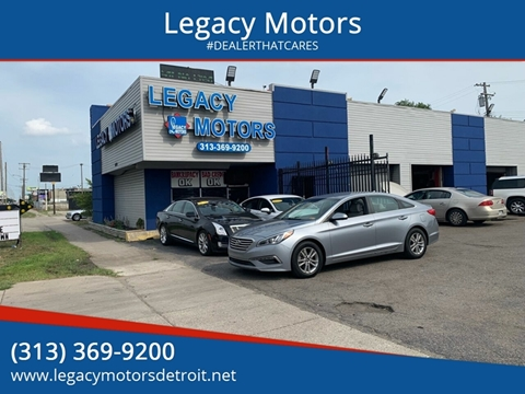 2015 Hyundai Sonata for sale at Legacy Motors in Detroit MI