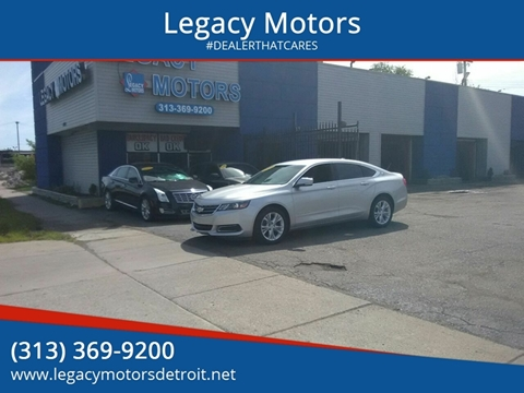 2014 Chevrolet Impala for sale at Legacy Motors in Detroit MI