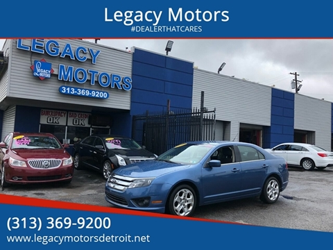 2010 Ford Fusion for sale at Legacy Motors in Detroit MI