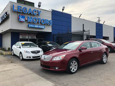 2011 Buick LaCrosse for sale at Legacy Motors in Detroit MI