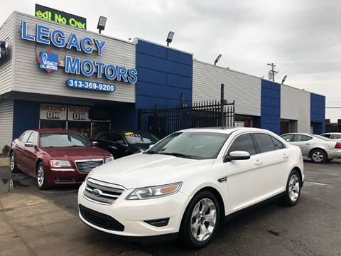 2012 Ford Taurus for sale at Legacy Motors in Detroit MI