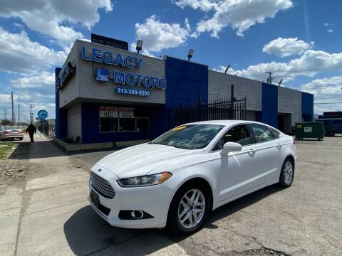 2014 Ford Fusion for sale at Legacy Motors in Detroit MI