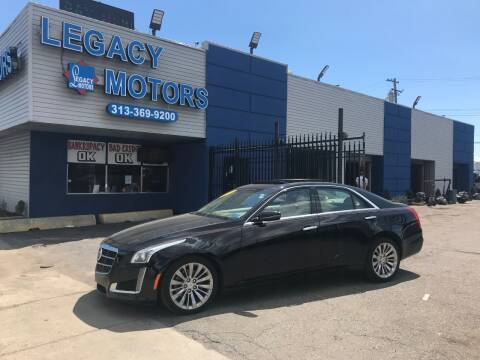 2014 Cadillac CTS for sale at Legacy Motors in Detroit MI
