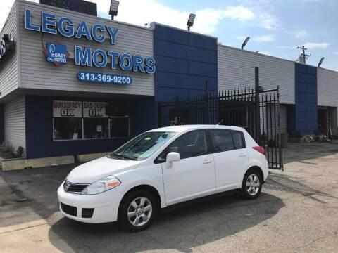 2012 Nissan Versa for sale at Legacy Motors in Detroit MI