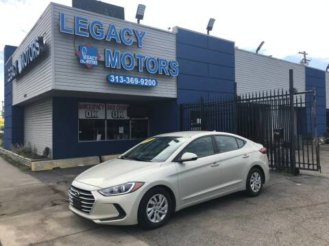 2017 Hyundai Elantra for sale at Legacy Motors in Detroit MI