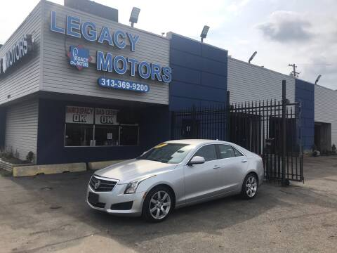 2013 Cadillac ATS for sale at Legacy Motors in Detroit MI